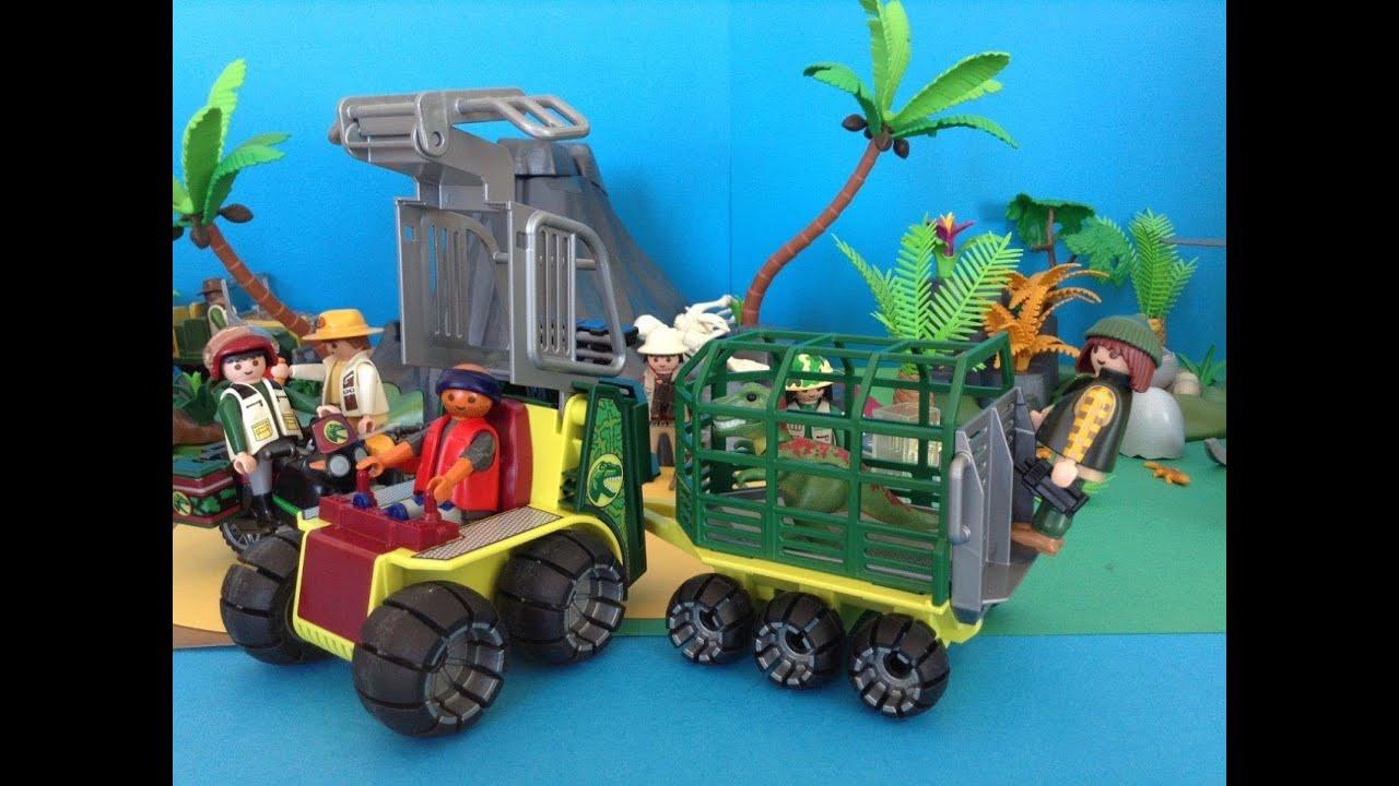 Playmobil dinos dinosaure jurassic world the explorers for Playmobil dinosaurios