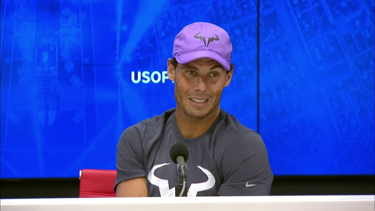Rafael Nadal That S Tennis Us Open 2019 Press Conference Youtube