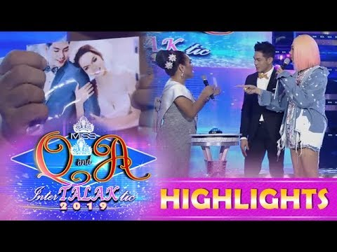 It's Showtime Miss Q and A: Dhar Lhea 1/4 Cordez claims that Kuya Escort Ion is her husband