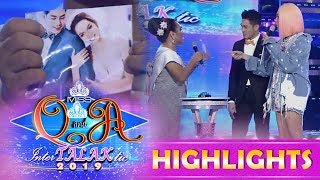 It's Showtime Miss Q & A: Dhar Lhea 1/4 Cordez claims that Kuya Escort Ion is her husband