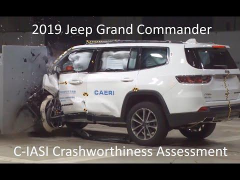 2018-2020 Jeep Grand Commander C-IASI Crashworthiness Tests