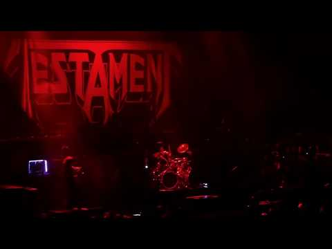 Testament 5/10/2018 San Diego, CA - Valley View Casino Center * FULL SET *