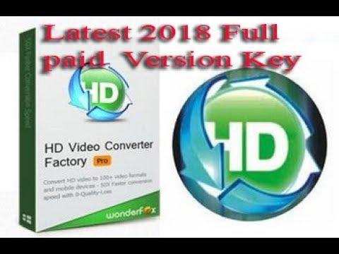 HD Video converter Factory  Pro Latest Version 2018 full Paid License  key