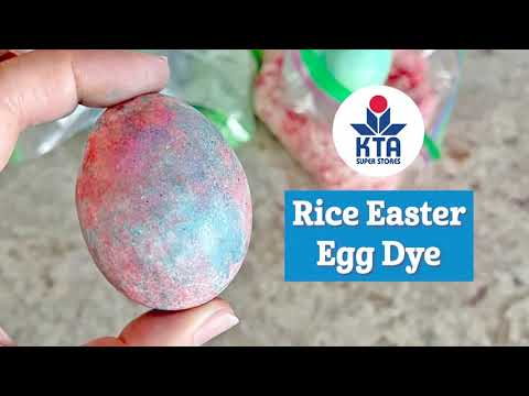 Egg Dye with Rice