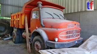 **BEAUTIFUL VINTAGE** Mercedes-Benz LAK Dump Truck / Kipper, Walk Around.