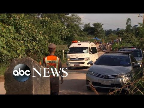 8 boys rescued from Thai cave l Thailand Cave Rescue