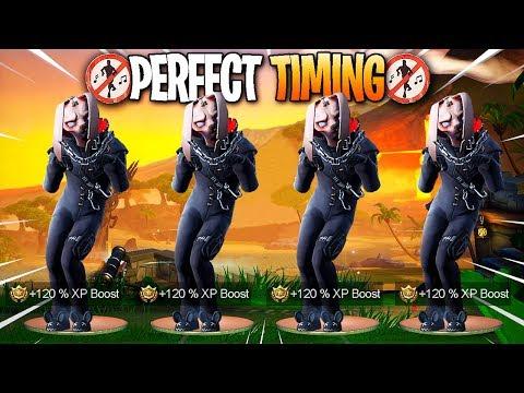 Fortnite - Perfect Timing Moments #72 (Season 8 Dances, Emotes)