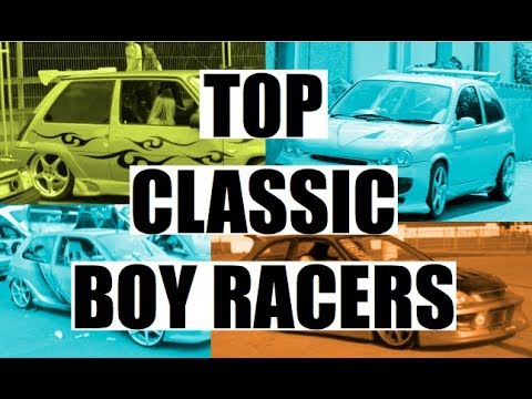 Top 5 classic boy racers