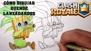 Cómo Dibujar DUENDE LANZADARDOS (Clash Royale)- Magic Bocetos- Tutorial Paso a Paso