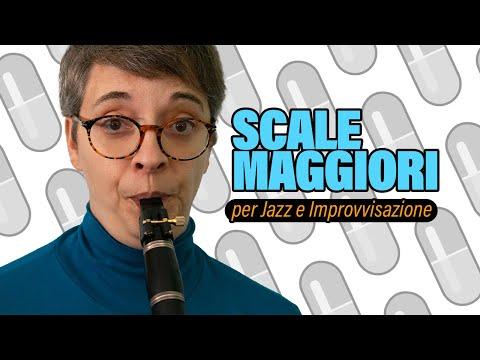 Scale maggiori per il jazz e l'improvvisazione #1