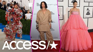 Rihanna's 10 Most Outrageous Fashion Moments Ever!   Access