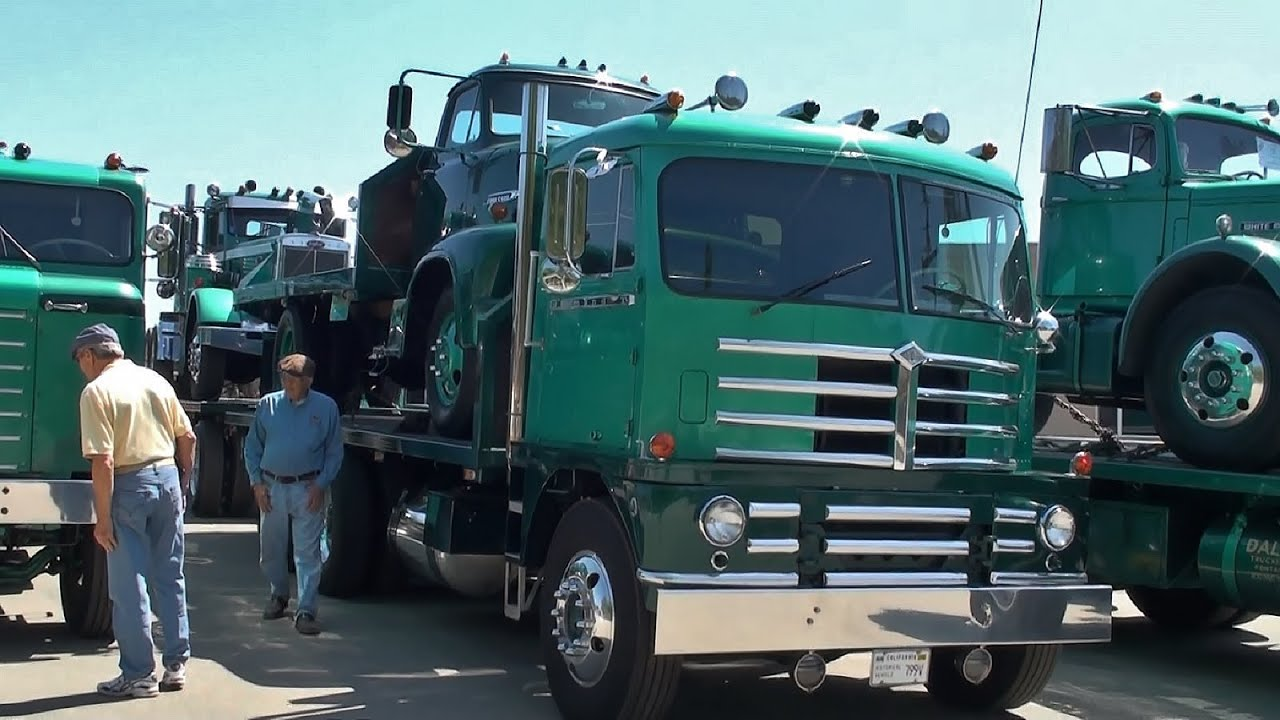 ATHS SoCal Antique Truck Show 2015 - YouTube