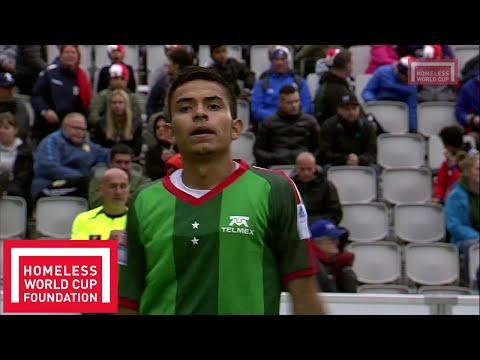 Oslo 2017 - Men's Homeless World Cup - Semi Final - Mexico v Chile