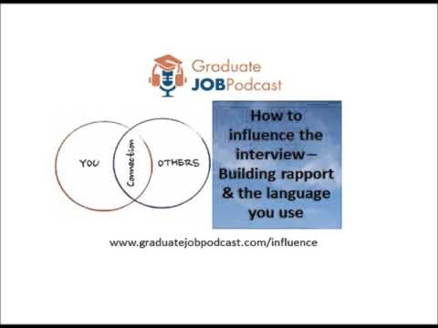Building rapport & the language you use - (How to Influence the Interview - Chris Delaney #28)