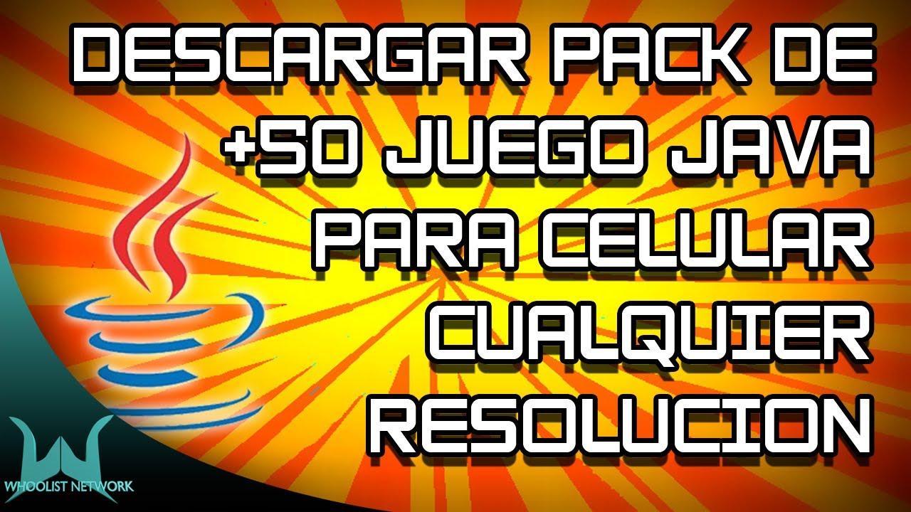 Descargar Juegos Para Celular 50 Juegos Java Link Youtube