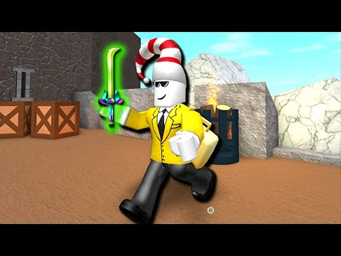 WE GOT THE NEW EXOTIC KNIFE!! (Roblox Assassin)