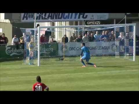 2014 OFC Champions League - Final 2nd Leg - Auckland City FC vs Amicale FC Highlights