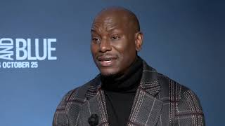 Director Deon Taylor & Tyrese Gibson talk Black And Blue with Blackfilm.com
