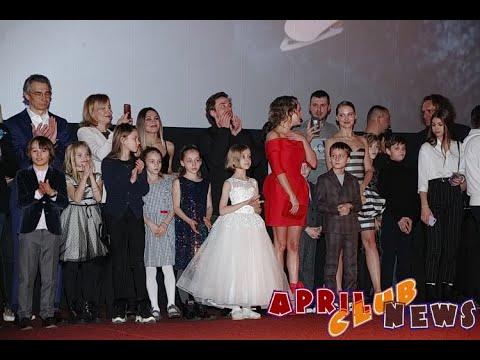 """Александр Петров и Аглая Тарасова на премьере фильма """"Лёд 2"""""""