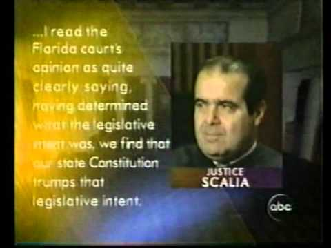 2000 Election December 1, 2000 World News Tonight Part 1