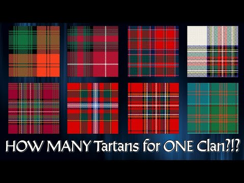 Why Do Some Clans Have Multiple Tartans?
