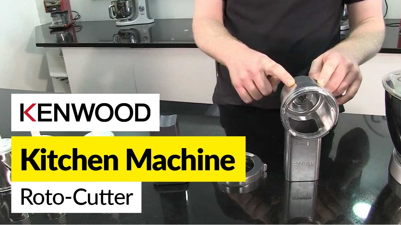 How To Use A Roto Cutter Attachment Kenwood