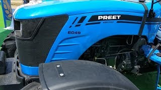 PREET 6049 4WD Agritrac tractor 60 HP PRICE 8.75 LAKH