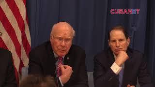 Declaraciones a la prensa de delegación norteamericana en La Habana, Cuba