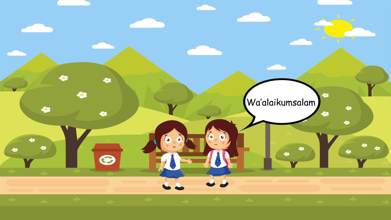 Gambar Kartun Anak Sekolah Keren Nusagates