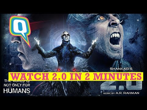 '2.0' in 2 minutes: Rajinikanth and Akshay Kumar battle it out | Quint Neon