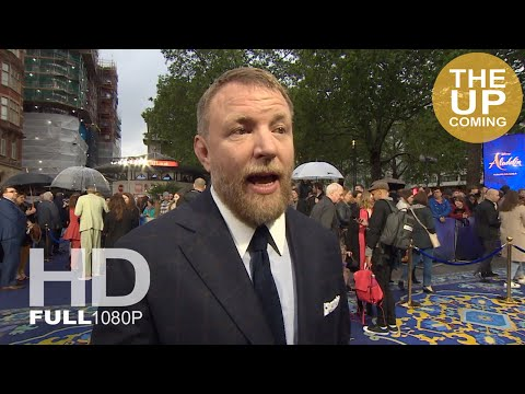 Aladdin: Guy Ritchie (director) interview at premiere in London