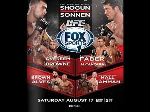 Mike on MMA #22 (UFC Fight Night 26 UFC on Fox Sports 1 Shogun vs Sonnen)