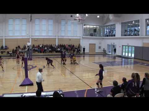 Cushing Academy - Varsity Girls Volleyball vs. Worcester Academy