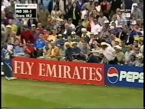 Sourav Ganguly 183 vs Sri Lanka WORLD CUP 1999