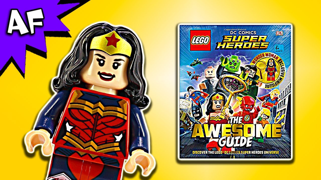 Lego DC Comics Awesome Guide Book Full Review + Wonder