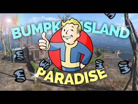 PARADISE (Bumpkin Island MOD) - PS4 Settlement Builds #2 | Fallout 4