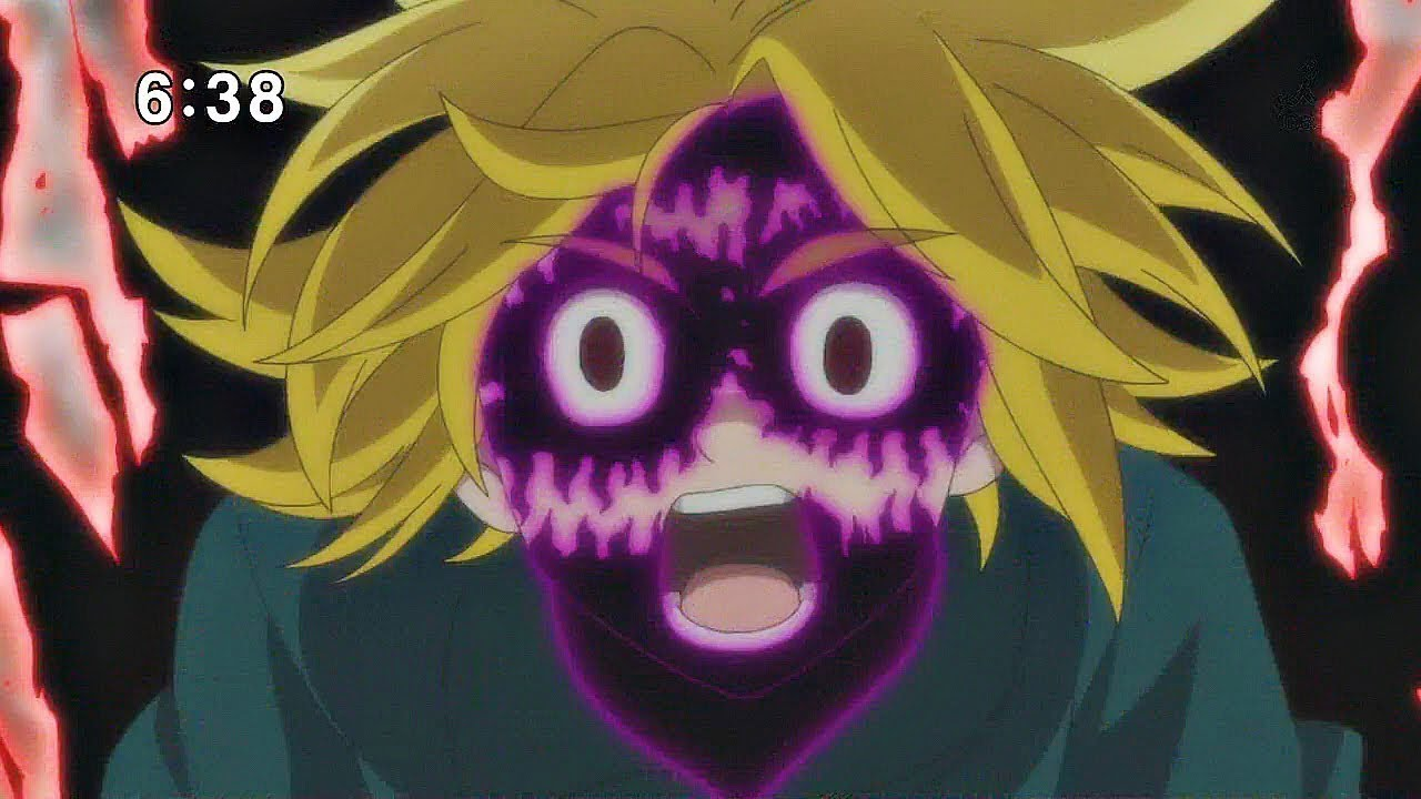 Meliodas control his demon form - Nanatsu no Taizai ...