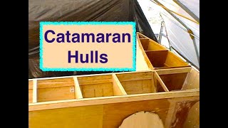 DIY Building Catamaran Hulls