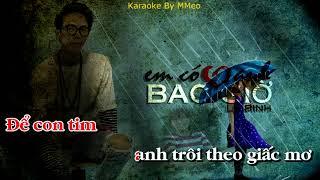 [ Karaoke ] Em Có Yêu Anh Bao Giờ - Lữ Bình Tone Nam
