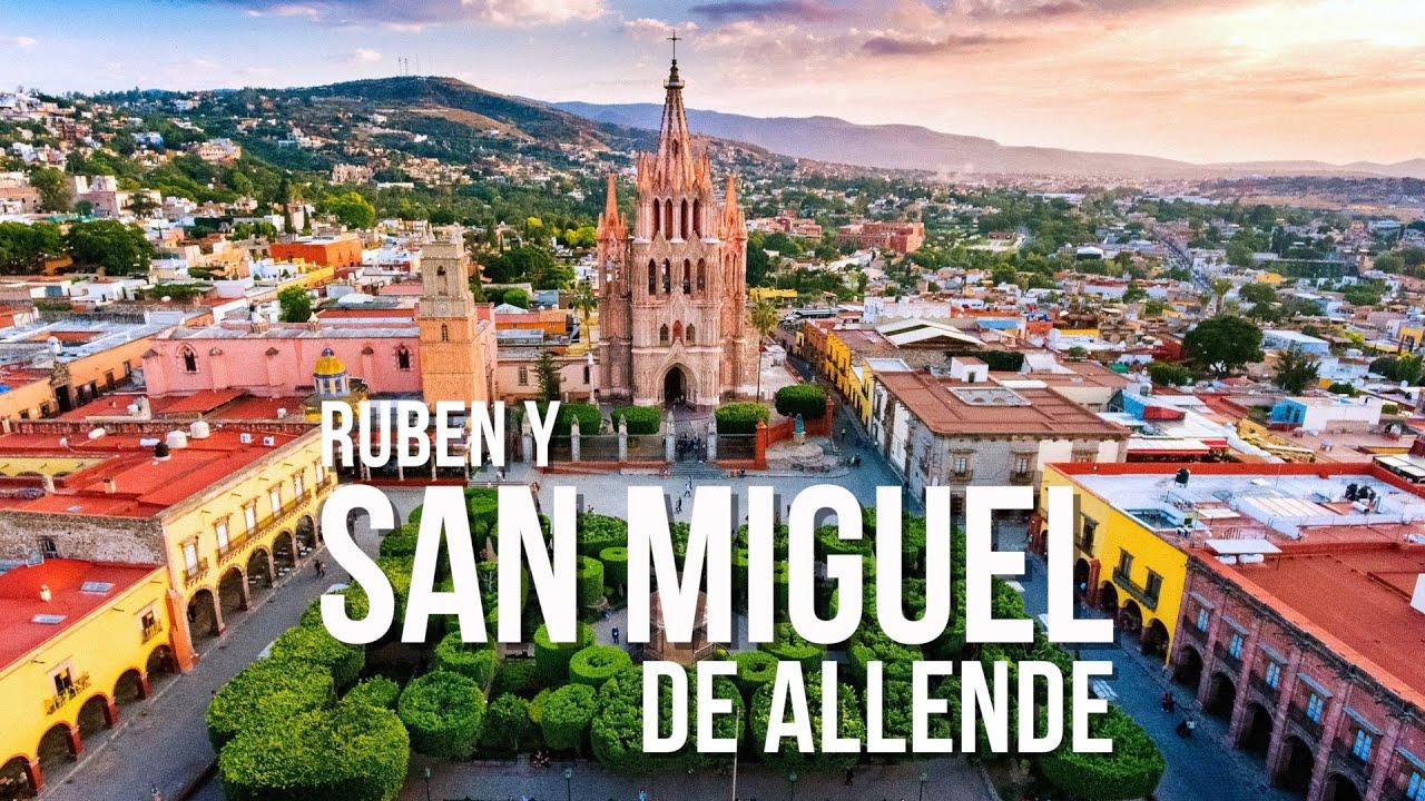 🇲🇽 SAN MIGUEL DE ALLENDE, la ciudad más bonita de México - YouTube