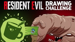 Artists Draw More Resident Evil Monsters (They've Never Seen)