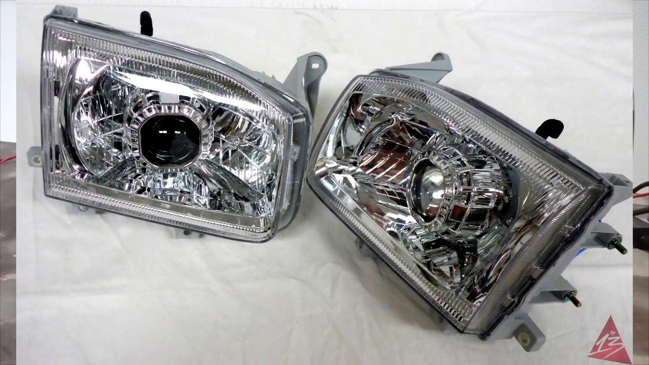 1999 2004 Nissan Pathfinder Projector Headlights W Hids Retrofit