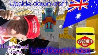Minecraft Upside-down-craft - Land Down Under! 🇦🇺
