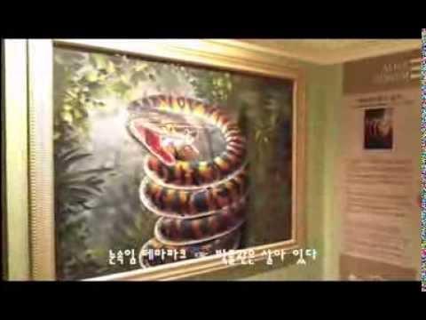 The museum is alive in Jeju South Korea 박물관은 살아 있다 -눈속임 테마파크