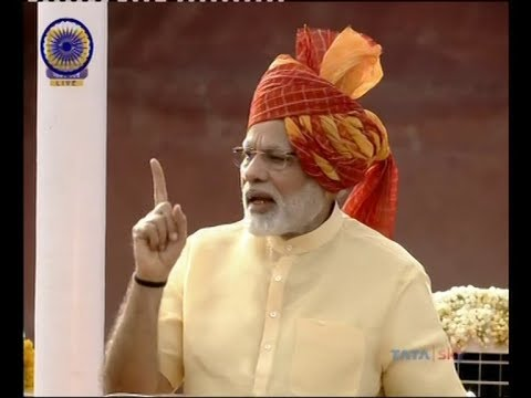 PM's FULL I-Day SPEECH: Modi speaks on Kashmir, demonetisation, GST & triple talaq