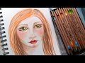 Real Time Colored Pencil Face with Tri Tone Pencils