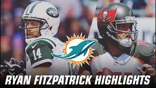 "Ryan Fitzpatrick | 2018-2016 Highlights | ""Welcome to Miami"" 