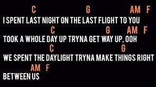 Maroon 5 - Girls like you (Lyrics + Chords)
