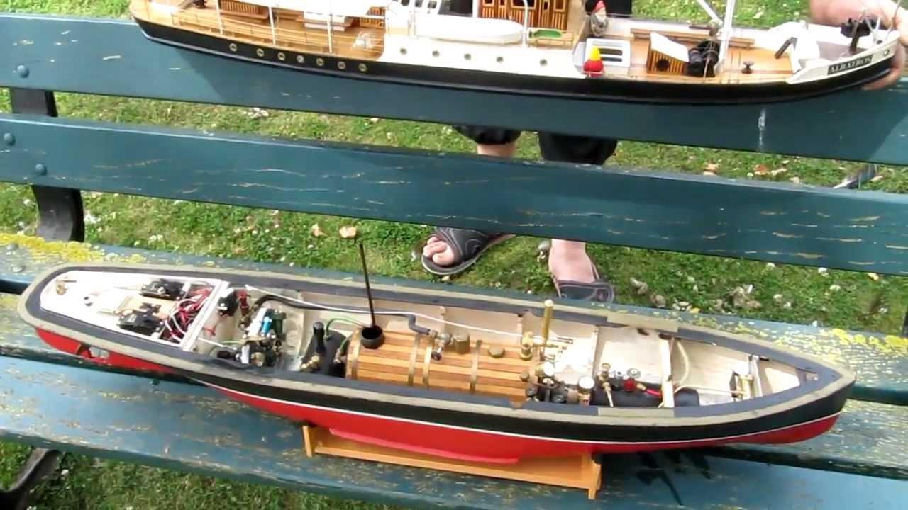 la machine de l 39 albatros mod lisme rc bateau vapeur steamboat youtube. Black Bedroom Furniture Sets. Home Design Ideas