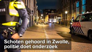 Schoten gehoord in centrum Zwolle, politie doet onderzoek - ©StefanVerkerk.nl